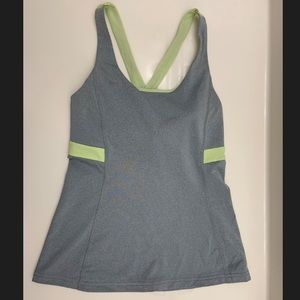 Lucy Shirt, Active Wear Criss Cross Back Padded XS